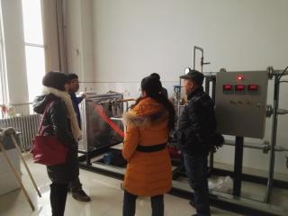 西安理工大学来实验室交流参观